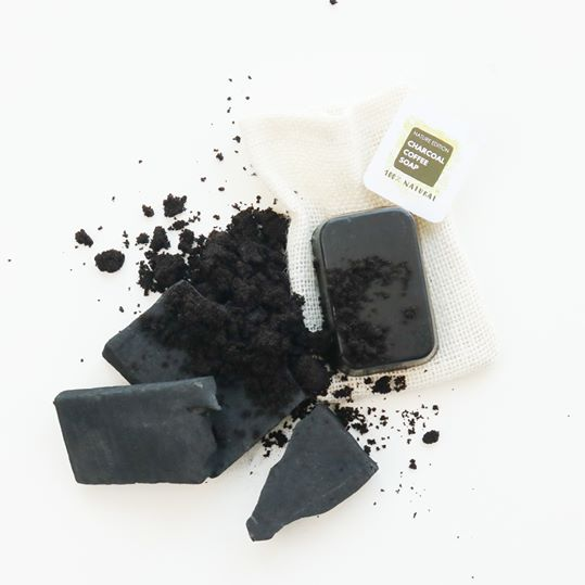 charcoal coffee soap 3