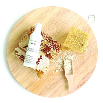 honey oat soap 4
