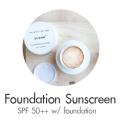 foundation sunscreen