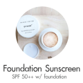 foundation sunscreen